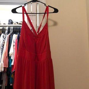 Torrid full length dress sz 2